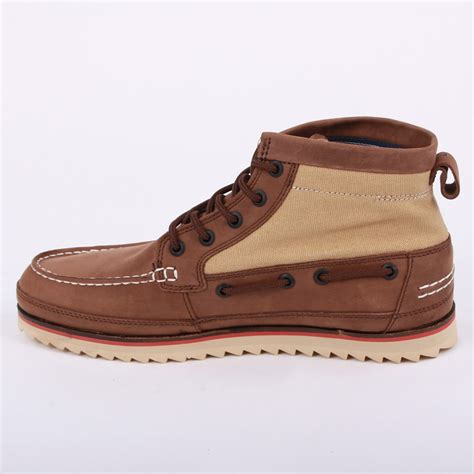 mens canvas ankle boots lacoste sauville mid mens laced leather canvas ankle