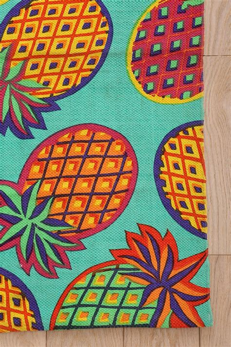 pineapple rug magical thinking pineapple rug