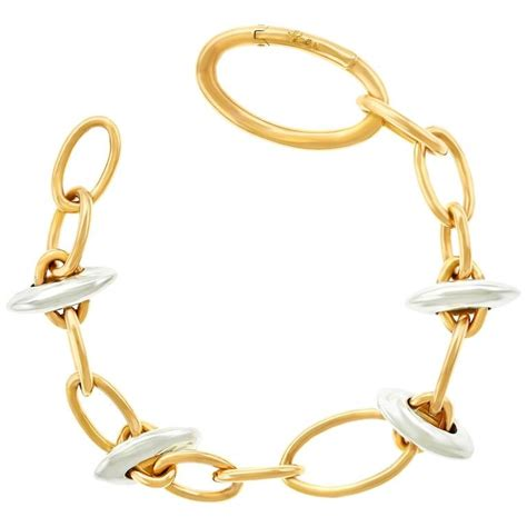Chic Gold Bracelet Chic Pomellato White And Gold Bracelet At 1stdibs