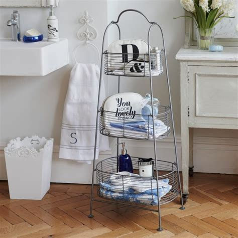 bring in freestanding wire storage bathroom storage