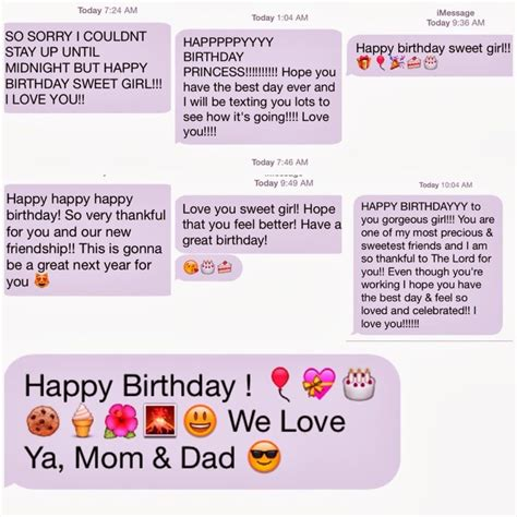 Text Message Birthday Cards Free 1000 Ideas About Happy Birthday Text Message On Pinterest