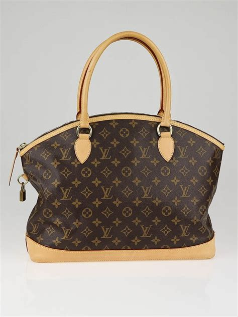 louis vuitton monogram canvas horizontal lockit bag