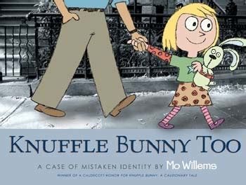 knuffle bunny too a kids book review bibliography mo willems