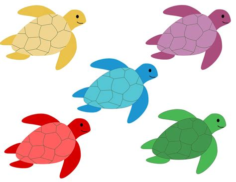 turtle colors colors clipart turtle pencil and in color colors clipart