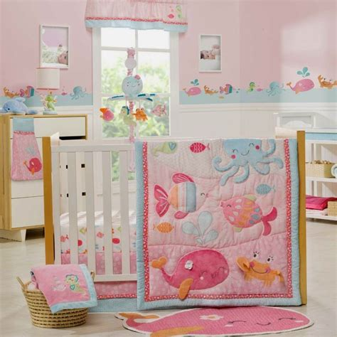 Underwater Crib Bedding 17 Best Images About The Sea Nursery On Pinterest Underwater Baby Rooms And Coral L