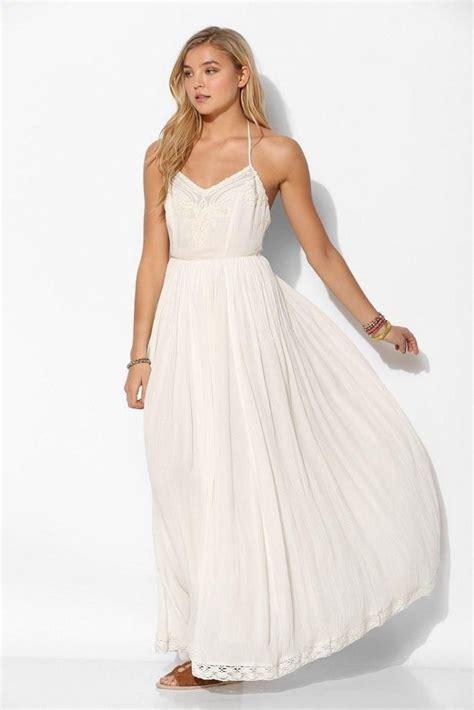 Robe Fluide Mousseline Blanche - robe blanche longue de bal fluide et mousseline sur