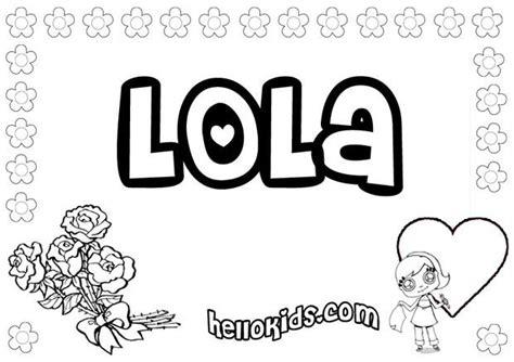 lola zum ausmalen de hellokids com
