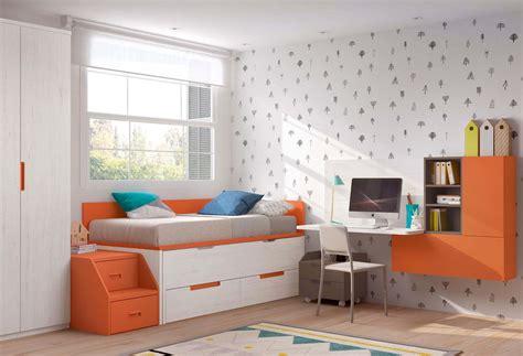 chambre moderne ado avec lit gigogne glicerio so nuit