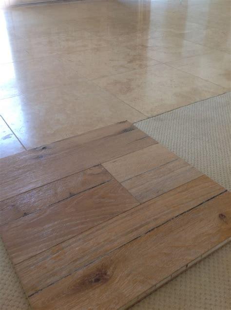 light rustic wood floor home design plan