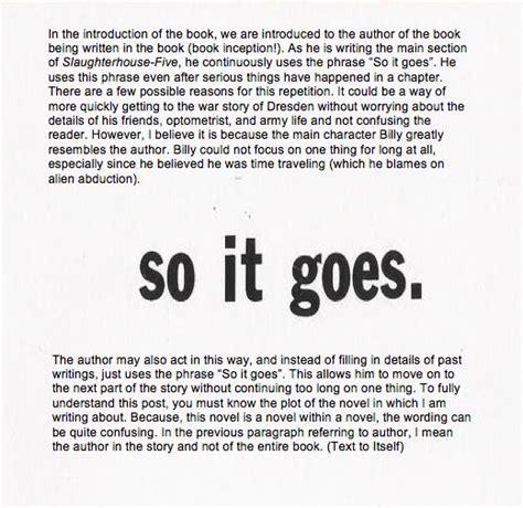 Kurt Vonnegut Dies At 84 So It Goes by Slaughterhouse Five Kurt Vonnegut Quotes Quotesgram