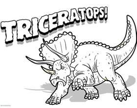 dinosauri disegno da colorare 2