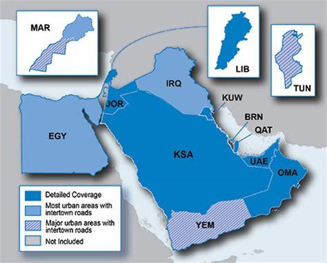 middle east map garmin garmin city navigator 2015 maps for middle east