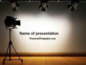 Powerpoint Report Templates photo studio powerpoint template by poweredtemplate com