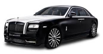rolls royce ghost black car png image pngpix