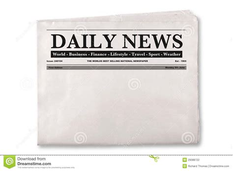 newspaper headline template best photos of empty newspaper template daily newspaper