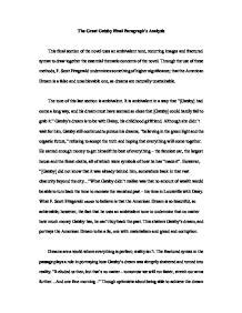 analysis of the great gatsby last page great gatsby ending analysis international baccalaureate