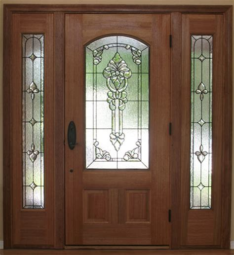 Stained Glass Sidelights Scottish Stained Glass Glass Entry Doors With Sidelights