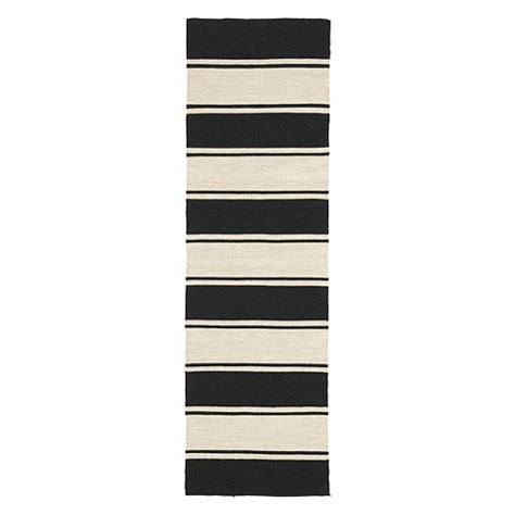 Black And White Runner Rug Black And White Striped Runner Rug Yalta Black White Wide Stripe Wool Runner Rug Black And