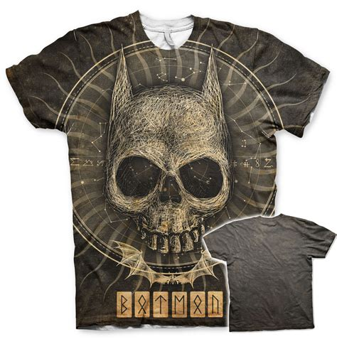 gothic t shirt prints batman