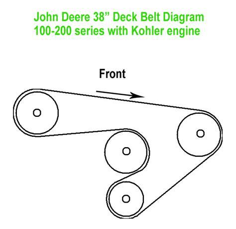 deere 38 mower deck belt diagram stx 38 deck belt diagram stx get free image about wiring