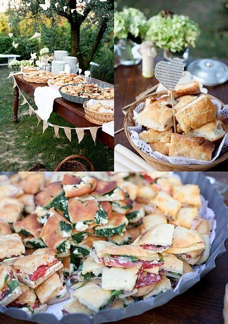 Small Sandwiches Are The Perfect Food For A Garden Party Garden Menu Ideas