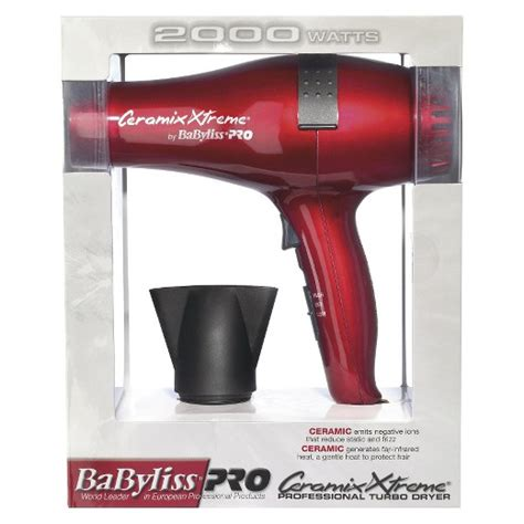 Babyliss Hair Dryer Target babyliss 174 pro ceramix xtreme 174 professional turbo dryer