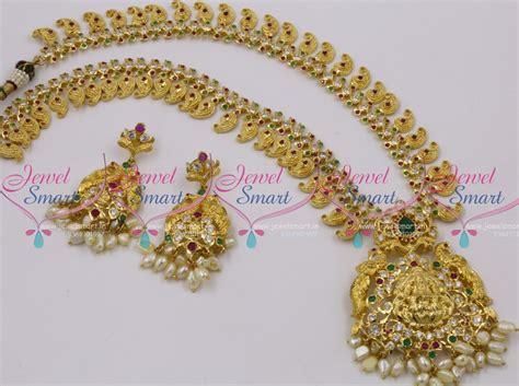 Handmade Gold Jewellery Designs - nl10051 one gram gold handmade traditional haram temple