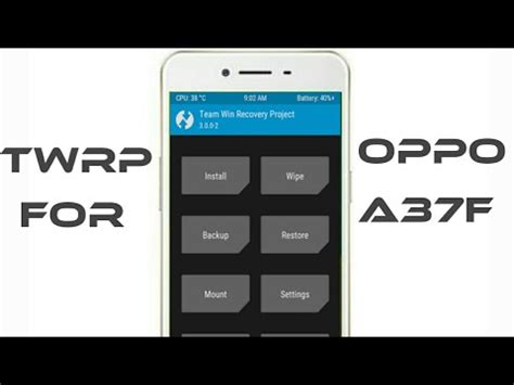 how to root oppo f5 unlock bootloader and flash twrp unlock bootloader and twrp 3 1 1 recovery for oppo a37f