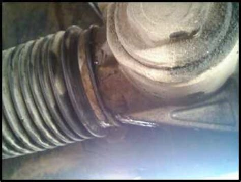 Rack And Pinion Leaking by Steering Rack Leak Photo Yotatech Forums