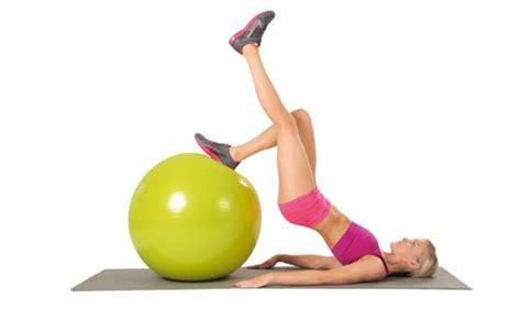 zu hause trainieren gymnastikball 220 bungen abnehmen geht damit deutlich leichter