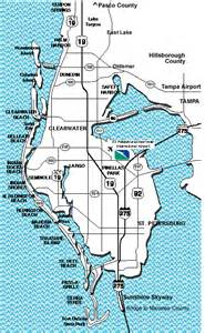 pinellas county florida zip code map pinella county florida map images