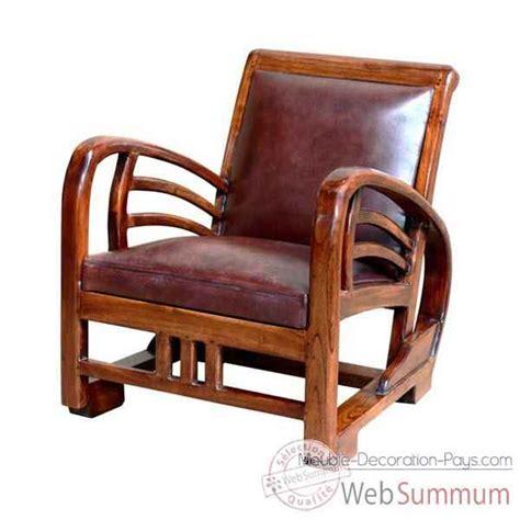 meuble fauteuil fauteuil bali avec assise en cuir buffalo tr 232 s confortable meuble d indon 233 sie 56450 de