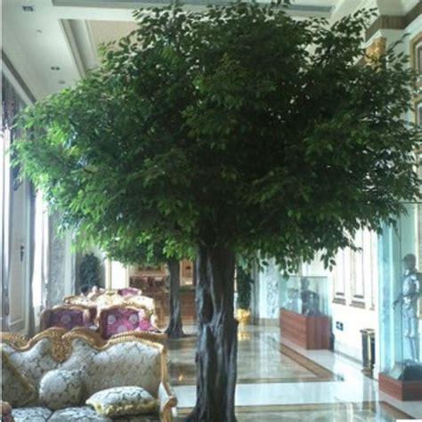 guangzhou factory make huge outdoor artificial ficus tree