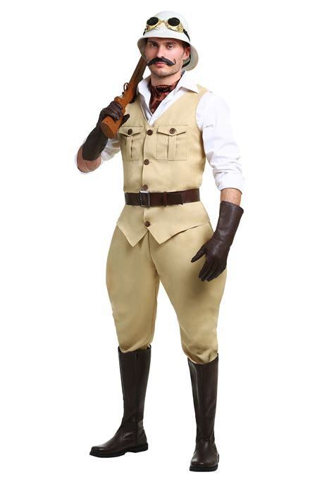 safari plus size costume for