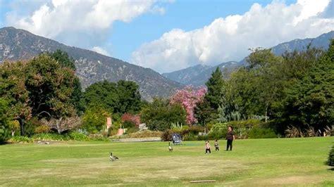 Botanic Gardens Los Angeles Los Angeles County Arboretum Botanic Garden