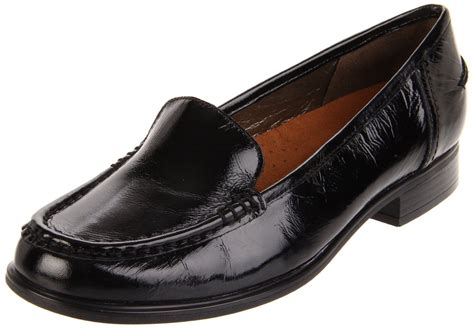 whats a hush puppy hush puppies 174 hush puppies womens blondelle slip on loafer in black black crinkle