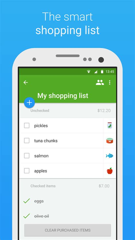design app used on love it or list it smart shopping list app materialup