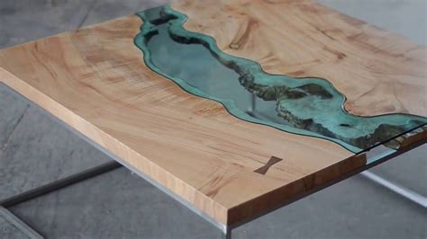 how to a river table river coffee table quot from this to that quot