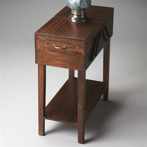 modern end table with storage butler modern expressions storage end table
