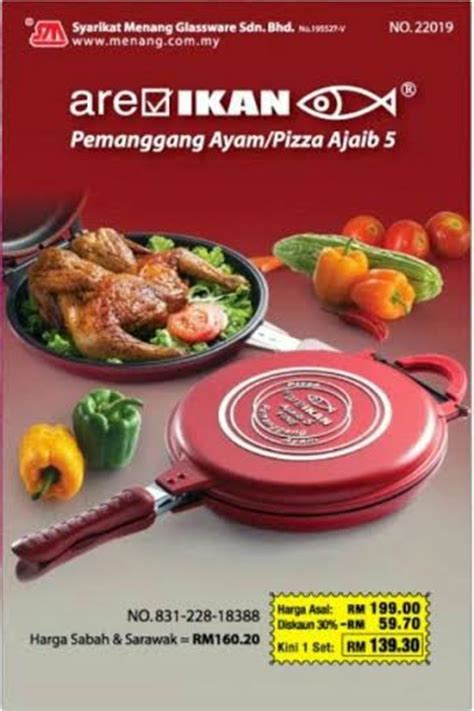Pemanggang Ajaib Cosway pizza ajaib 5 areikan suka makan pizza wajib beli ni