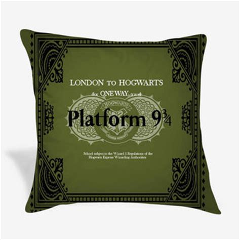 Harry Potter Pillow Cases by Harry Potter Hogwarts Platform Pillow From Cushionidea