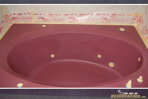 Refinish Acrylic Bathtub by Tub Resurfacing The Of Resurfacing Inc