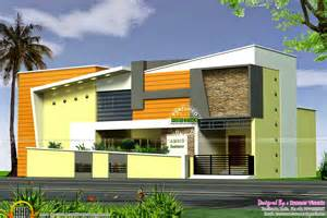 contemporary exterior in 378 square yards keralahousedesigns