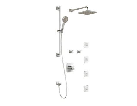 umani t375 complete thermostatic shower system faucets