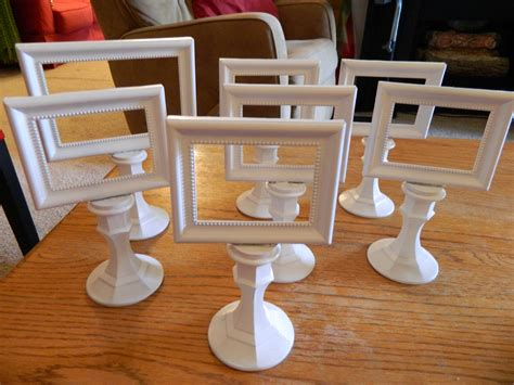 small candle table ls diy table signs small frames mounted on