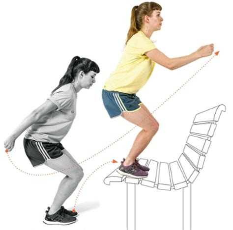 bench jumps five exercises to make you a faster stronger runner