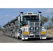 Six Trailer Road Train Truck &187 Funny Bizarre Amazing
