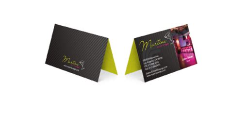 fold business cards templates folded business card printing free folded business card