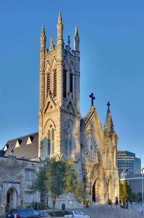 Awesome Catholic Churches In Austin #3: 1024px-St_Mary_Cathedral,_Austin,_Texas_(HDR).jpg