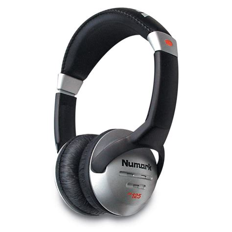 Headphone Numark numark hf125 professional dj headphones at gear4music